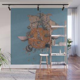 La machine volante Wall Mural