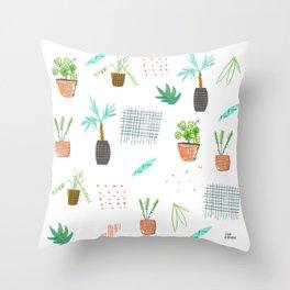 Botanica Pattern Throw Pillow