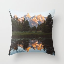 Summer in the Tetons 2 Throw Pillow