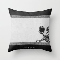 Metroid - The Chozo Geek Line Artly Throw Pillow