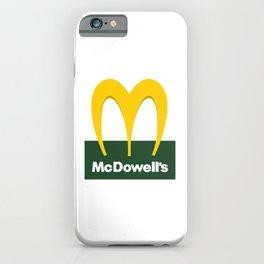 McDowell's iPhone Case