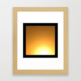 Abstract #16 (Untitled) Framed Art Print