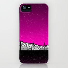 Kenai Mountains iPhone Case