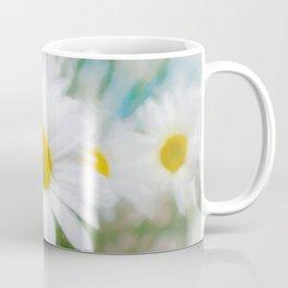 Daisies flowers in painting style 14 Coffee Mug