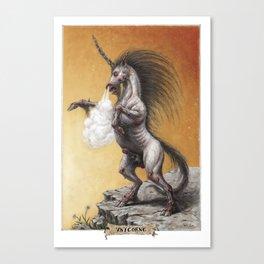 Vnicorne (Unicorn) Canvas Print
