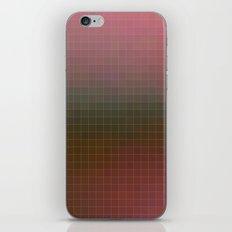 Pixels Pink & Green iPhone & iPod Skin