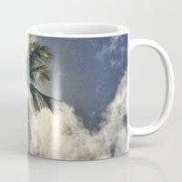 palm Mugs featuring Palm by Karli Henneman