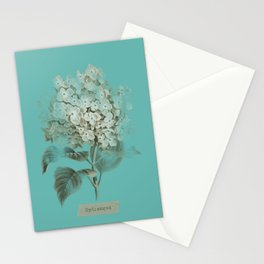 HYDRANGEA 3 Stationery Cards