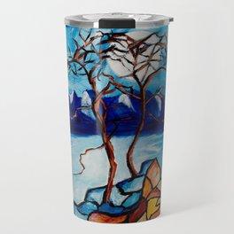 Moonlight Cypress Travel Mug