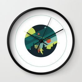 Sea Caverns Were Our Cosmos Wall Clock