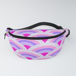 Rainbow connection - violet Fanny Pack