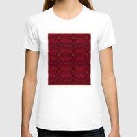 persian T-shirts featuring Persian rugs by Vargamari