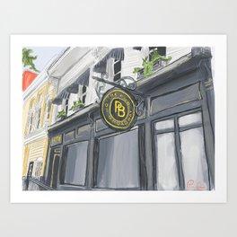 Broadway Pub Art Print