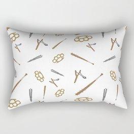 Play Dirty Pattern Rectangular Pillow