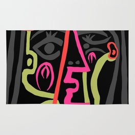 Picasso - Neon Colors Rug