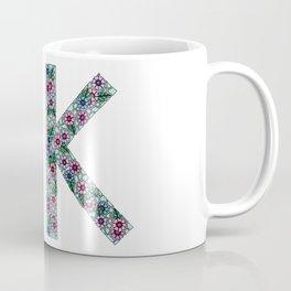 K Initial Coffee Mug