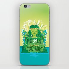 Know who you are iPhone & iPod Skin