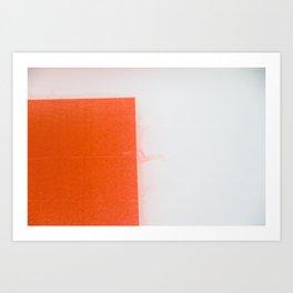 WET COLORS 4 Art Print