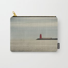 Red Lighthouse Carry-All Pouch