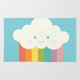 Proud rainbow cloud Rug