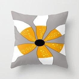 FLOWERY DESIGNS / ORIGINAL DANISH DESIGN bykazandholly Throw Pillow