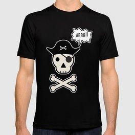 Skul face pirate T-shirt