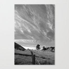 Sky Change Canvas Print