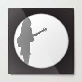 Performer Spotlight Metal Print
