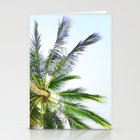 palm trees Stationery Cards featuring Palm trees by Sary and Saff