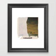 for years I have eaten dust  Framed Art Print