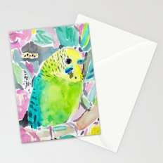 DISCO THE PARAKEET Stationery Cards