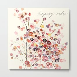 Beautiful Small Florals Metal Print