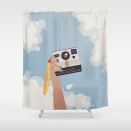 Summer in Focus Shower Curtain