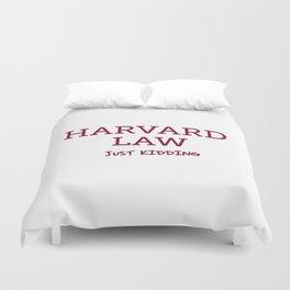 Harvard Law Duvet Cover