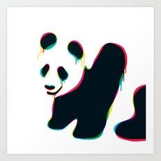 Composite panda Art Print