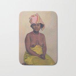 Felix Vallotton - Femme africaine Bath Mat