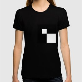 Black and White Color Block #2 T-shirt