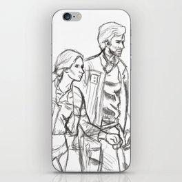Rebelcaptain Sketch iPhone Skin