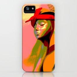 Kuhl's Kit Kat Klub: The Hat Check Girl iPhone Case