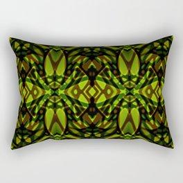 Fractal Art Stained Glass G313 Rectangular Pillow