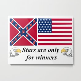 Stars Are Only For Winners Metal Print
