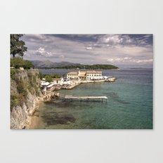 Corfu Seascape Canvas Print