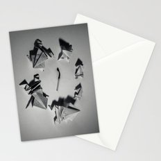 Paper Frogs Celebrate Victory over the Tyranny of Fire Stationery Cards