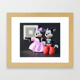 Pulp Miction Framed Art Print