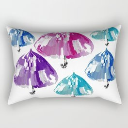 Umbrellas Rectangular Pillow