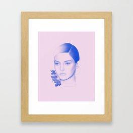 Troubled Framed Art Print