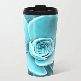 Succulent Southwest Metal Travel Mug
