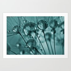 Sapphires Art Print