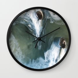 Garry Point - Original Resin Painting Wall Clock