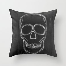 No. 57 - The Skull Throw Pillow